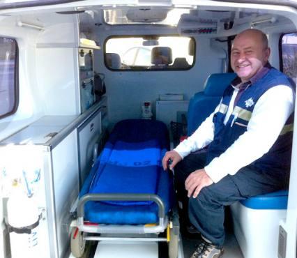 Ambulance jard sur mer
